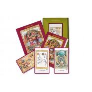 Deck Cards TAROT JULIET and ROMEO Shakespeare Tarots DEL NEGRO 42406