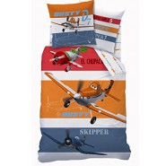 BED SET Duvet Cover PLANES CHUPACABRA Dusty Skipper 160x200cm Cotton ORIGINAL Disney