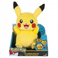 POKEMON Plush Figure 20cm TALKING PIKACHU Sounds Lights Original TOMY