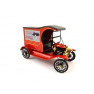 Modellino COCA COLA Furgone FORD MODEL T 1917 Cargo Van 1/18 Motor City VINTAGE Coke
