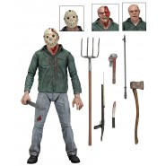 Friday 13th PART 3 3D Action Figure 18cm Ultimate JASON ORIGINAL Neca