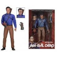 Figura Action ASH EROE MOTOSEGA 18cm ASH VS EVIL DEAD Serie 1 NECA