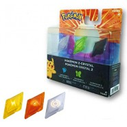 POKEMON Sole Luna BOX Pack 3 CRISTALLI Z-CRYSTAL Originale TOMY Nintendo DS
