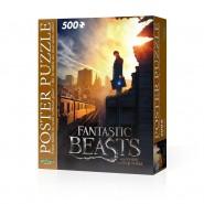 ANIMALI FANTASTICI New York NEWT SCAMANDER Puzzle MAGIC POSTER 500 pezzi