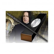 Harry Potter BACCHETTA MAGICA di SEVERUS PITON SNAPE Character Edition ORIGINALE Noble Collection