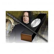 Harry Potter BACCHETTA MAGICA di SEVERUS PITON SNAPE Character Edition ORIGINALE Noble Collection
