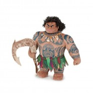 Plush MAUI 18cm from OCEANIA Movie Original DISNEY Official Beanie Moana