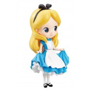Figure Statue ALICE In Wonderland NORMAL Color 14cm Serie QPOSKET Banpresto DISNEY