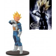 DRAGONBALL Z Figura VEGETA Super Saiyan NORMAL Color 18cm RESOLUTION OF SOLDIERS Vol. 2 Banpresto
