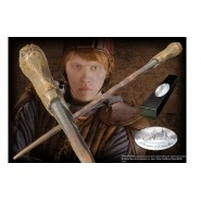 RON WEASLEY 's MAGICAL WAND Character Edition ORIGINAL Noble Collection Harry Potter