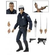 Terminator POLICE STATION ASSAULT Figura Action 18cm T-800 Ultimate ARNOLD SCHWARZENEGGER Neca