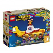 BEATLES Playset YELLOW SUBMARINE Building Blocks LEGO IDEAS 21306