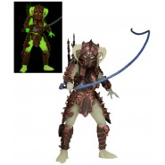 Figura Action STALKER PREDATOR Versione GLOW IN THE DARK Serie 16 NECA USA Originale ULTIMATE ALIEN HUNTER