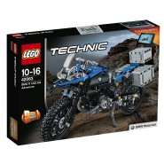 Building Model Motorcycle BMW R1200GS Lego TECHNIC 42063