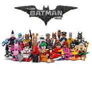 LEGO Mini Figures THE BATMAN MOVIE Set Completo 20 FIGURE Nuove BUSTINA Minifigures 71017