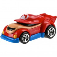 Modellino Auto SUPER MARIO Scala 1:64 Nintendo MATTEL Hot Wheels DIE CAST
