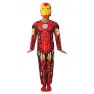 COSTUME Carnevale IRON MAN Bambino DELUXE CON MUSCOLI Marvel Avengers Assemble RUBIE'S Rubies