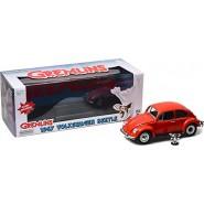 GREMLINS Modello Auto DieCast VOLKSWAGEN BEETLE Maggiolino 1967 Scala 1/18 con figura GIZMO GREENLIGHT