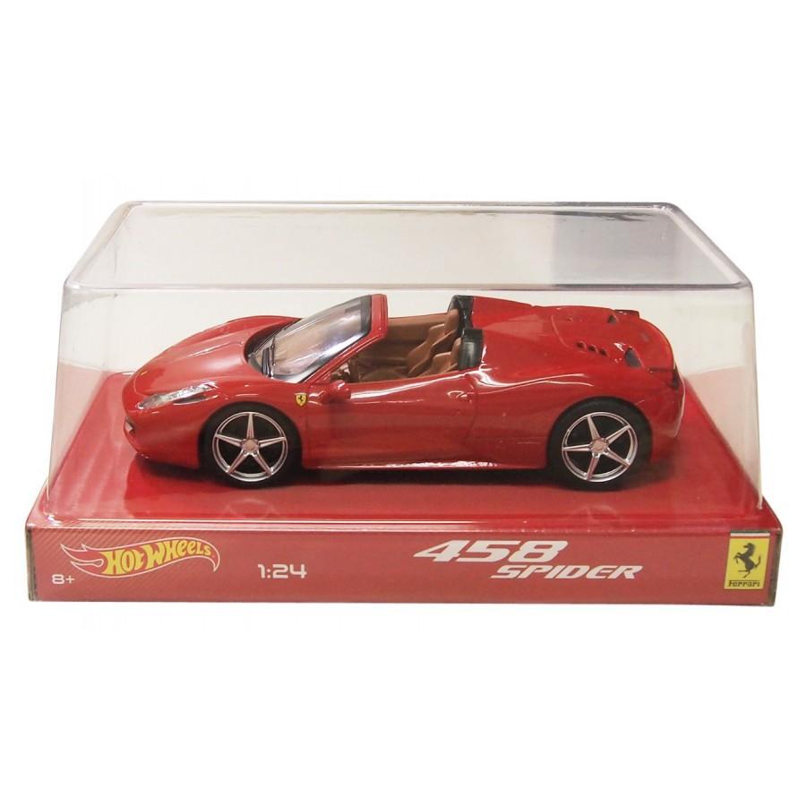 Elicottero Hot Wheels : Diecast model car ferrari spider red hot wheels mattel