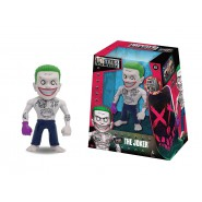 JOKER MOVIE VERSION da Suicide Squad FIGURA Statuetta 10cm METALLO Dc Comics JADA Toys