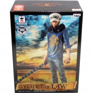 ONE PIECE Figura Statua 26cm TRAFALGAR LAW Special Version CON BOX Banpresto MASTER STARS PIECE