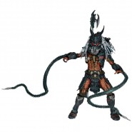Figura Action Deluxe 22cm PREDATOR CLAN LEADER Ultimate Alien Hunter ORIGINALE Neca
