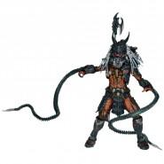 Figura Action Deluxe 22cm PREDATOR CLAN LEADER Ultimate Alien Hunter ORIGINALE Neca