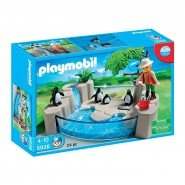 Set Playset PENGUINS At The Zoo PLAYMOBIL 5926 Original Official NEW