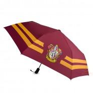 HARRY Potter Official GRYFFINDOR House UMBRELLA Folding WARNER BROS