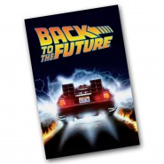 BACK TO THE FUTURE Beach Towel DE LOREAN Bath 61x91cm Original TIME MACHINE BTTF