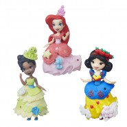 PRINCESS Disney FIGURE with DRESS SNAP-INS Little Kingdom Fashion Change 9cm HASBRO Choose Character