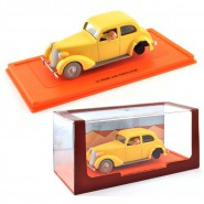 TIN TIN Model Car LE CRABE AUX PINCES D'OR 1944 DieCast Scale 1/43 With FIGURES Original ATLAS TINTIN