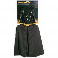 Carnival KIT Mask + CAPE Star Wars DARTH VADER Boy RUBIE'S