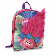 Hairy BACKPACK Princess POPPY Trolls 32x27cm Original