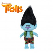BRANCH Peluche 25cm dal film TROLLS Originale Ufficiale TOP QUALITY