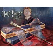 RON WEASLEY 's MAGICAL WAND With OLIVANDER BOX Package Harry Potter NOBLE COLLECTION Ollivander