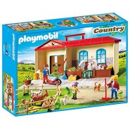 Playset PORTABLE FARM HOUSE Playmobil Country 4897