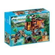 Playset CASA Avventura SULL'ALBERO con PONTE SOSPESO Playmobil Wild Life 5557