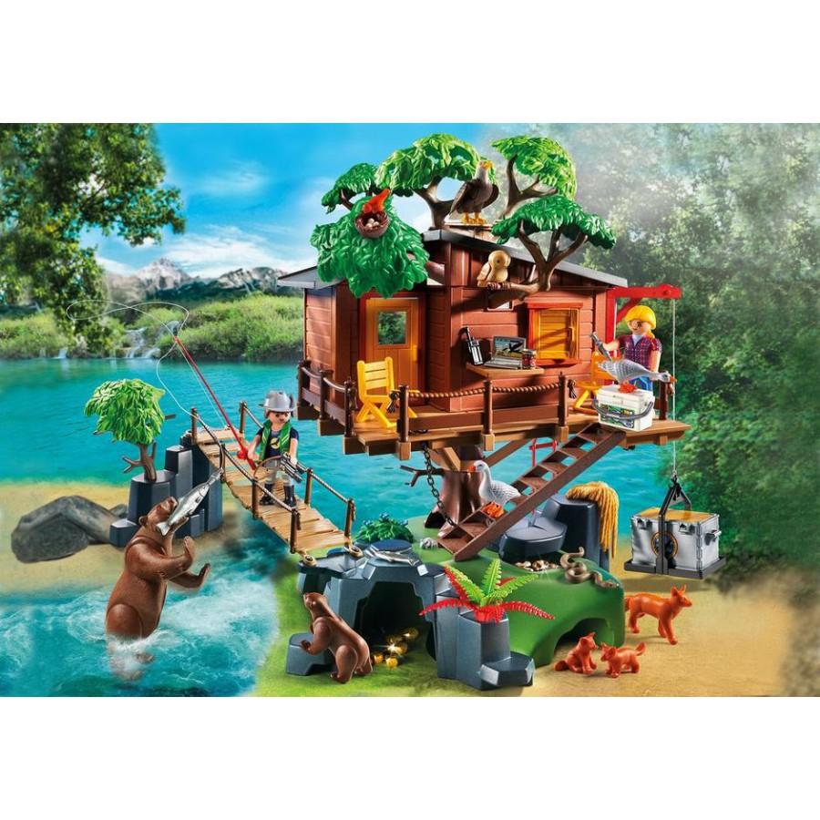 Playset casa avventura sull 39 albero con ponte sospeso playmobil wild life 5557 apecollection - Casa del arbol playmobil 5557 ...