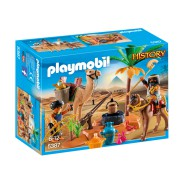 Playset TOMB RAIDERS CAMP Egypt Playmobil History 5387