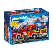 Playset FIRE BRIGADE ENGINE LADDER with LIGHTS Playmobil City Action 5362