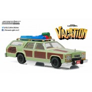 NATIONAL LAMPOON'S VACATION Modellino WAGON QUEEN Special Version HONKY LIPS Scala 1/43 Greenlight