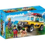 Playset JEEP del SOCCORSO ALPINO Playmobil Action 9128