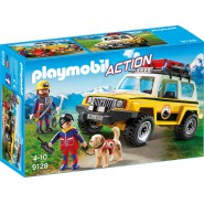 Playset ALPIN Rescue Rangers JEEP Playmobil Action 9128