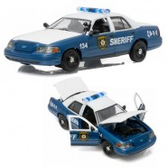 Model FORD INTERCEPTER Police Car RICK GRIMES From Tv Movie WALKING DEAD 1/43 Scale DieCast Greenlight