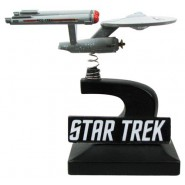 Modellino Nave Stellare ENTERPRISE NCC-1701 Bobble Ship 7cm Monitor Mate STAR TREK Original Serie