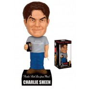 Figure CHARLIE SHEEN Bobble Head 15cm TALKING Original FUNKO