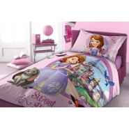 Bed Set PRINCESS SOFIA The First Disney DUVET and PILLOW COVER 100% COTTON