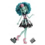 HONEY SWAMP Camera Action Bambola Figura 27cm MONSTER HIGH Mattel BLW94