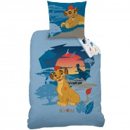 Cotton Bed Set  THE LION GUARD Disney DUVET and PILLOW COVER 140x200cm